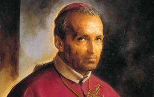 Santo Afonso Maria de Ligório, fundador da Congregação do Santíssimo Redentor.